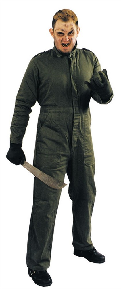 Adult Horror Killer Costume Jumpsuit