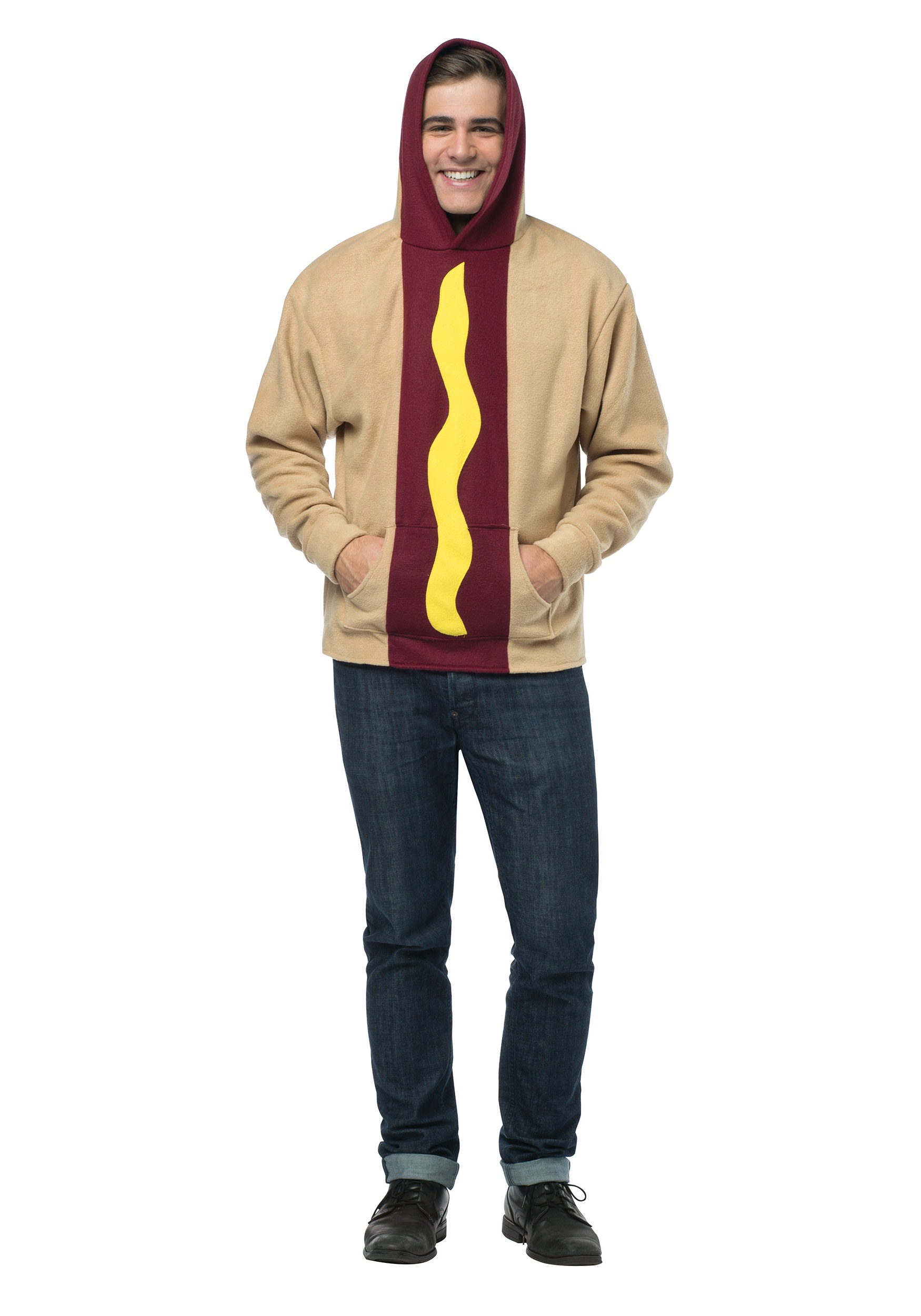 Adult Hot Dog Hoodie