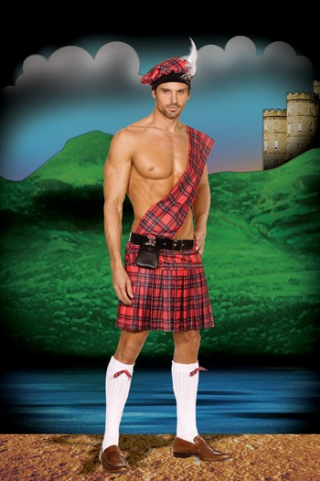 Adult Hottie Scottie Costume