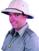 Adult Indian Khaki Pith Hat