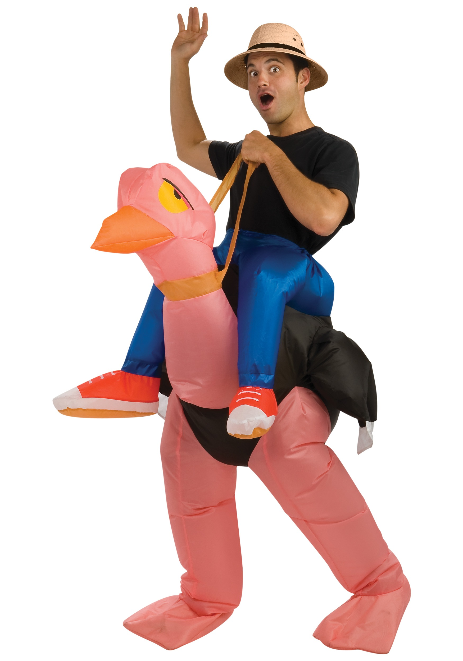 Adult Inflatable Ostrich Costume