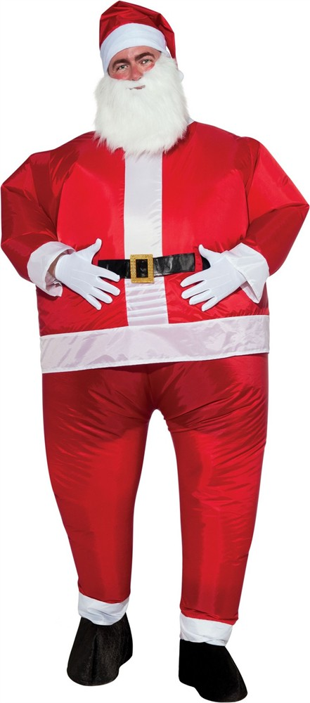 Adult Inflatable Santa Suit