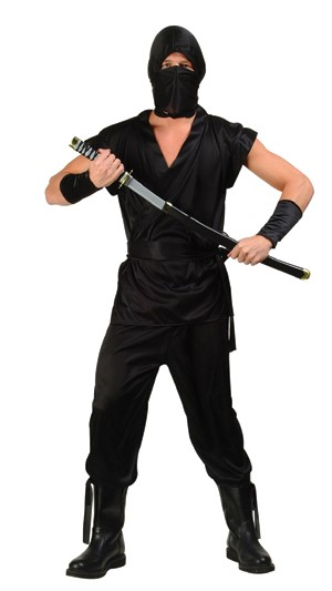 Adult Invisible Ninja Costume