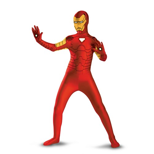 Adult Iron Man Bodysuit