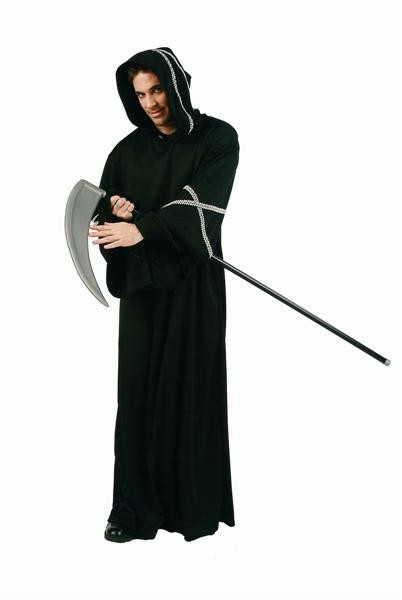Adult King Warrior Costume - White Trim