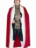 Adult King's Robe Costume - Red