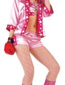 Adult Knock Out Sexy Boxer Costume - Pink