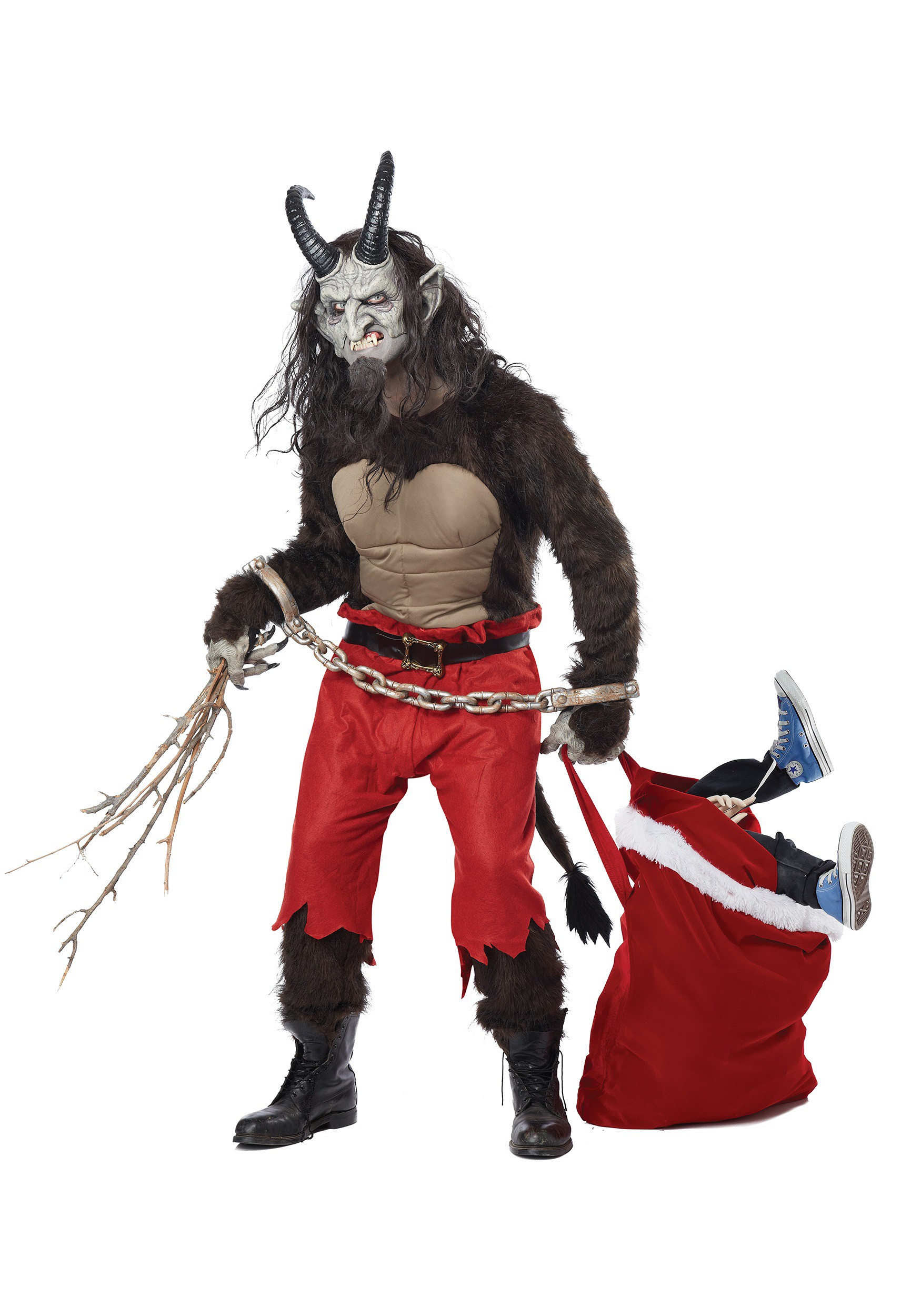 Adult Krampus the Christmas Demon Costume