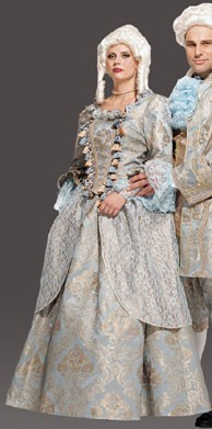 Adult Lady Amadeus Costume