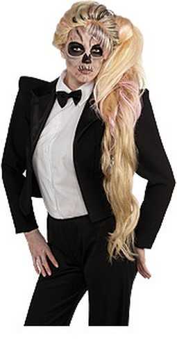 Adult Lady Gaga Side Ponytail Wig