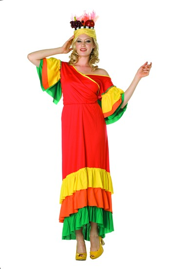 Adult Lady Miranda Brazilian Costume