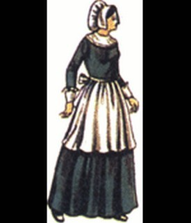 Adult Lady Pilgrim Set