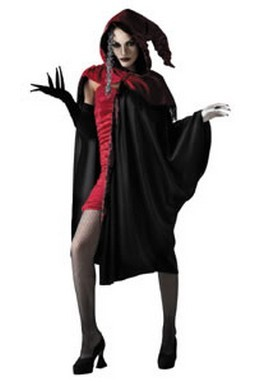 Adult Lady of Darkness Cape