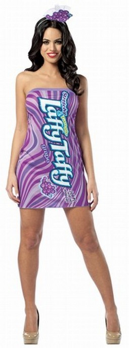 Adult Laffy Taffy Grape Costume