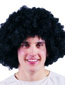 Adult Large Black Afro Wig