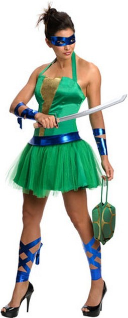 Adult Leonardo Female Costume