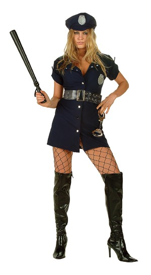 Adult Line of Duty Sexy Cop Costume