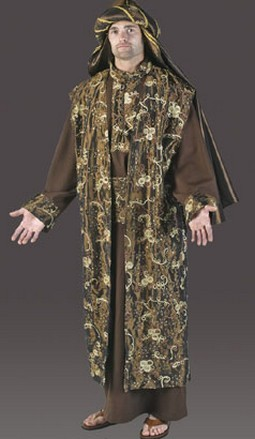 Adult Luxury Wiseman Costume - Chocolate