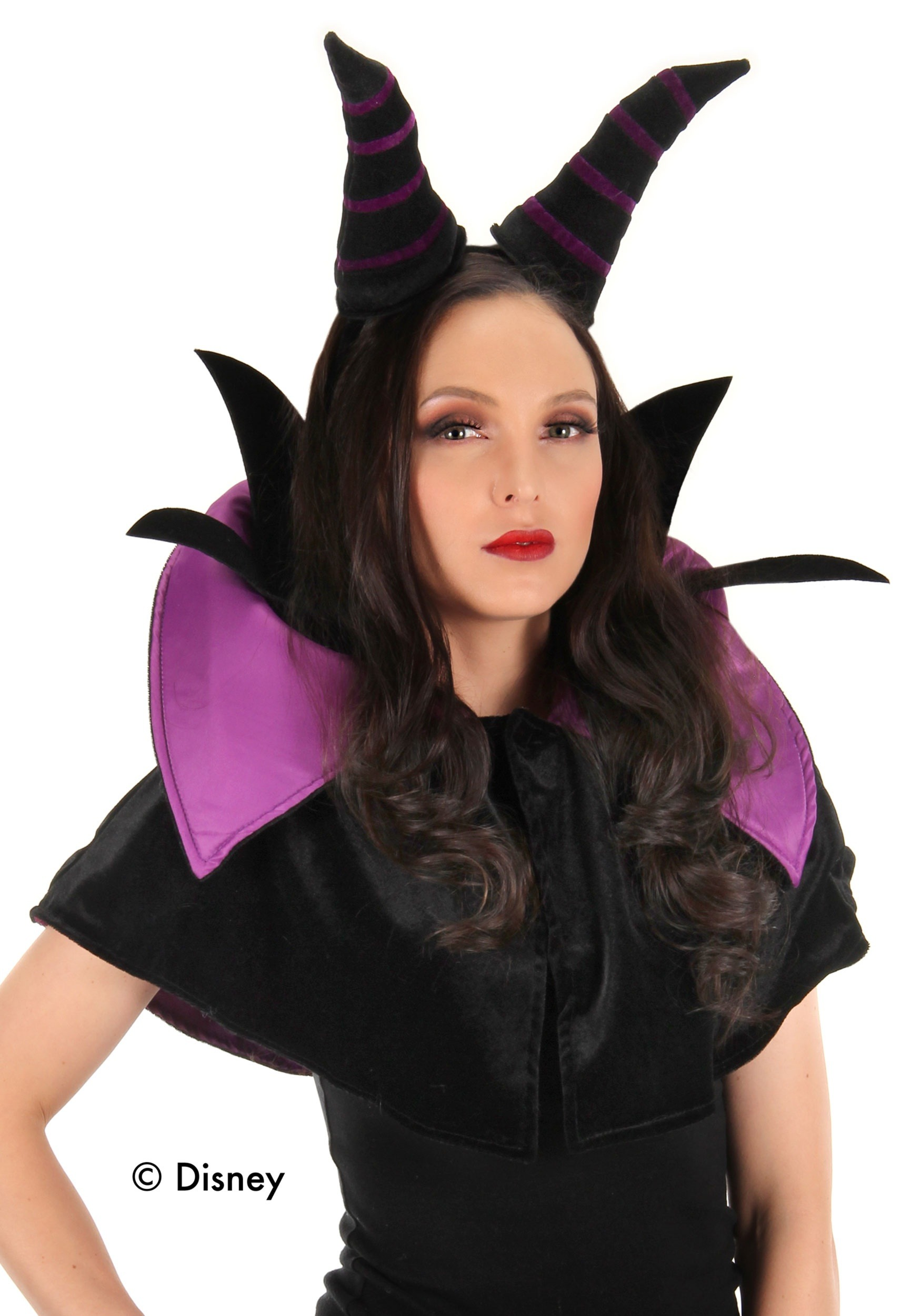 Adult Maleficent Headband and Collar Set