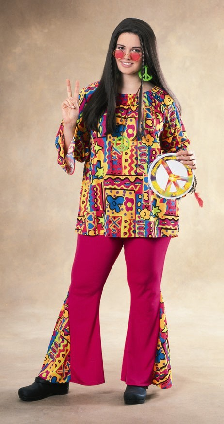 Adult Mama Hippie Costume