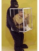 Adult Man in the Cage Costume