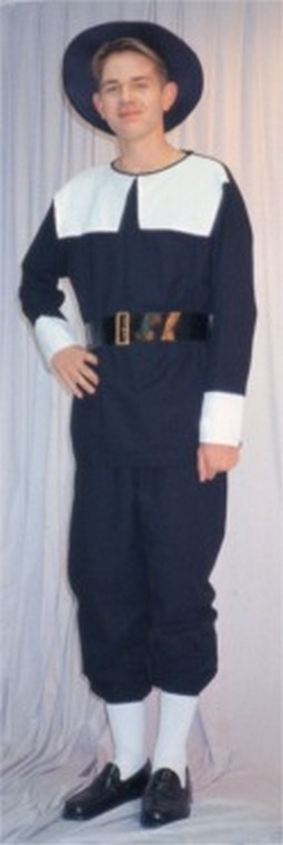 Adult Man's Pilgrim Costume