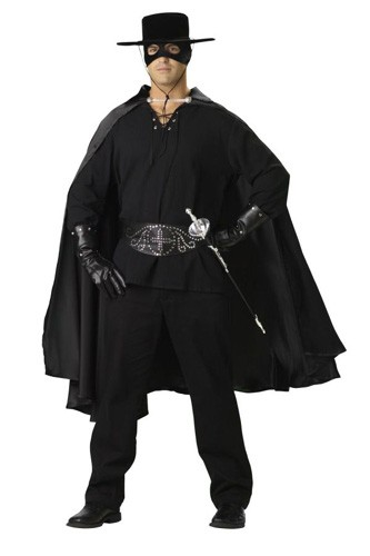 Adult Masked Hero Costume - Bandido