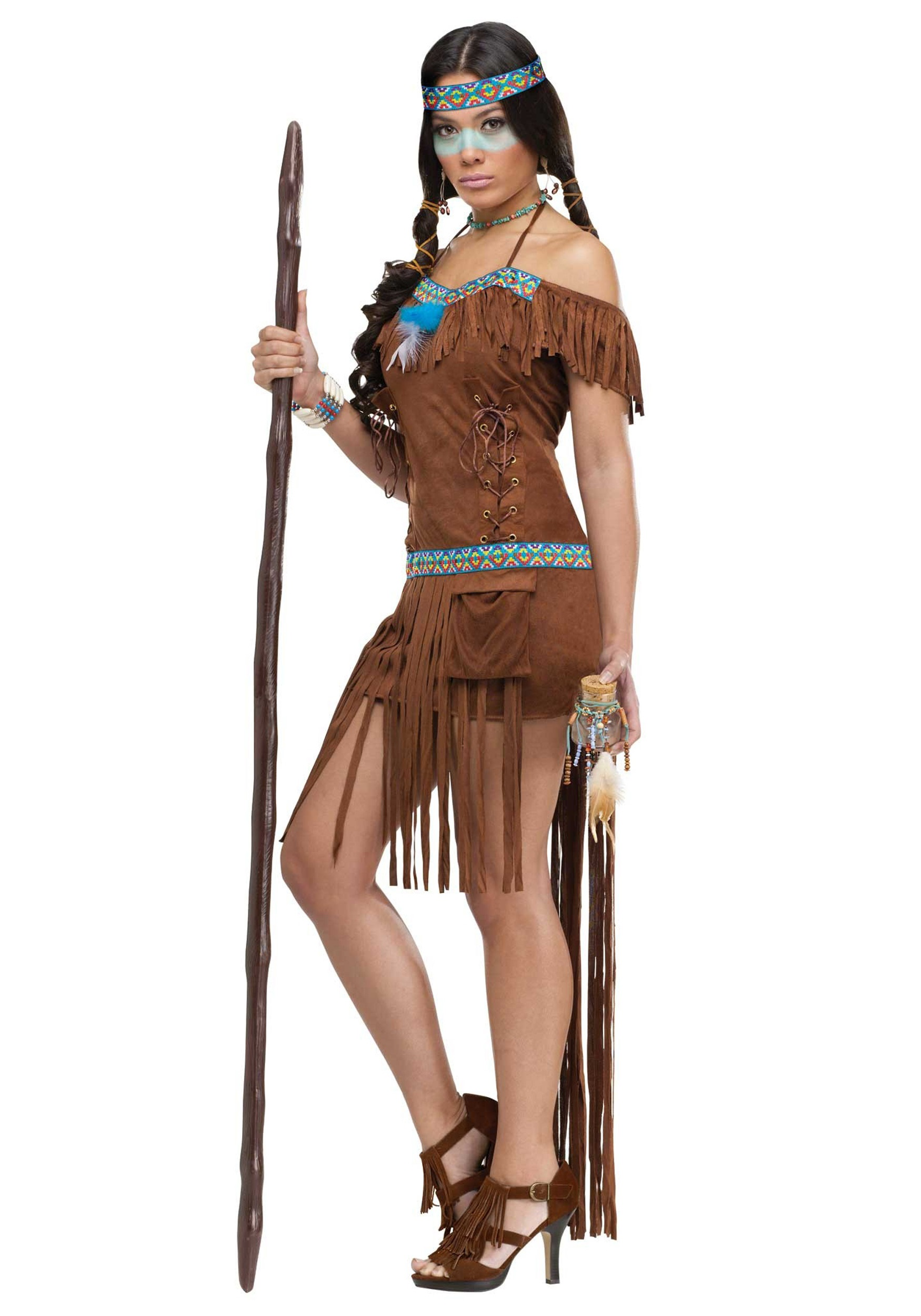 Adult Medicine Woman Costume
