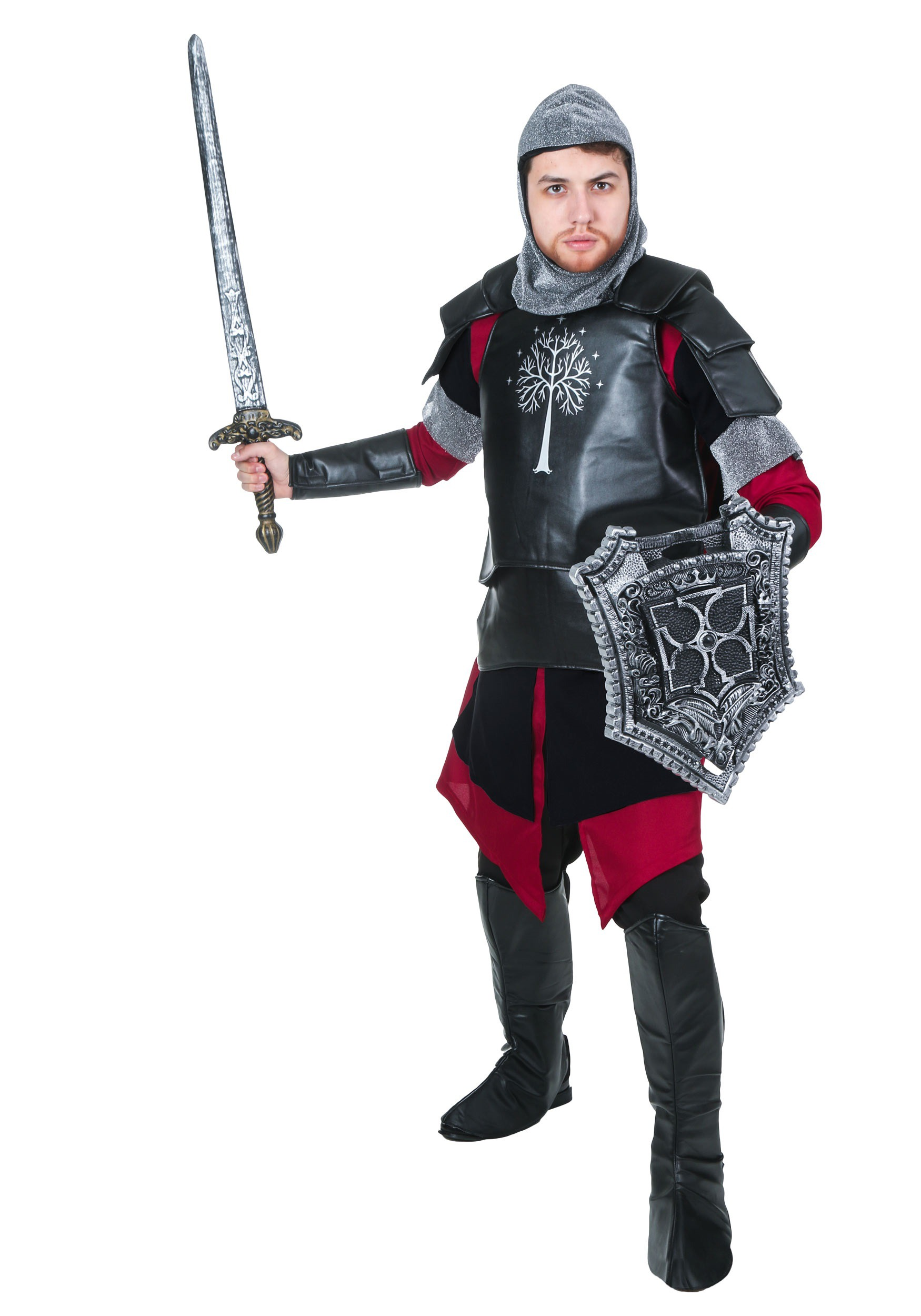 Adult Medieval Battle Knight Costume