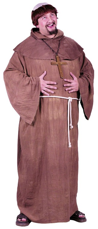 Adult Medieval Monk Costume