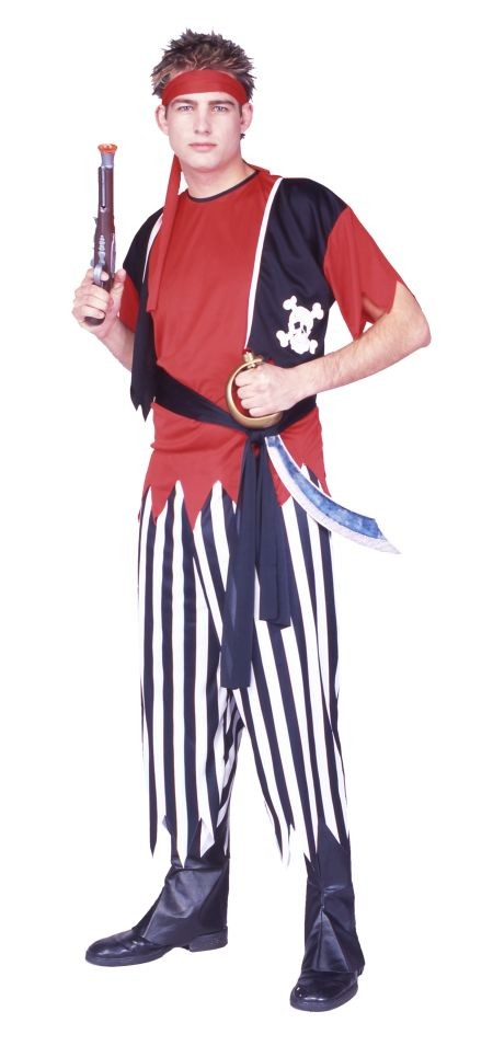 Adult Men's Pirate Halloween Costume