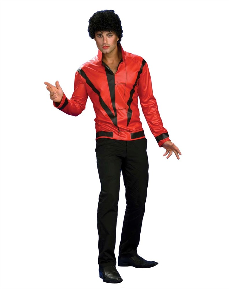 Adult Michael Jackson Thriller Red Jacket