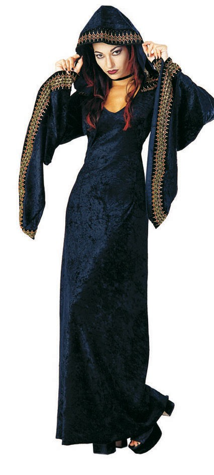 Adult Midnight Preistess Gothic Costume
