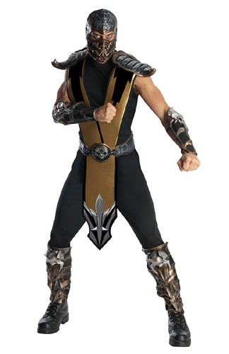 Adult Mortal Kombat Scorpion Costume