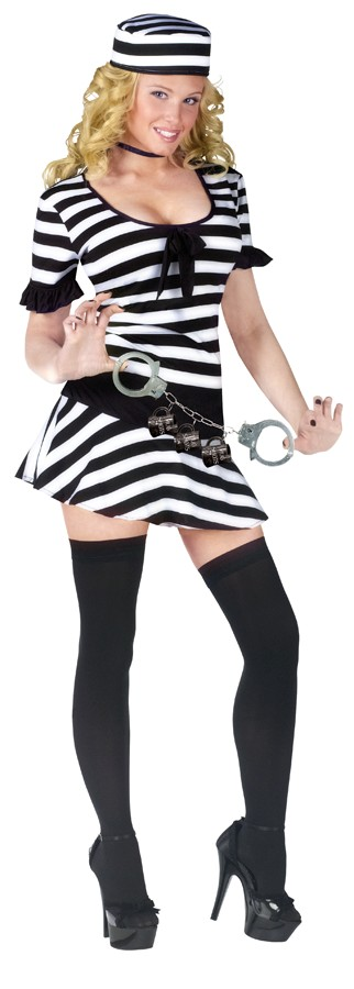 Adult Mug Shot Fantasy Costume