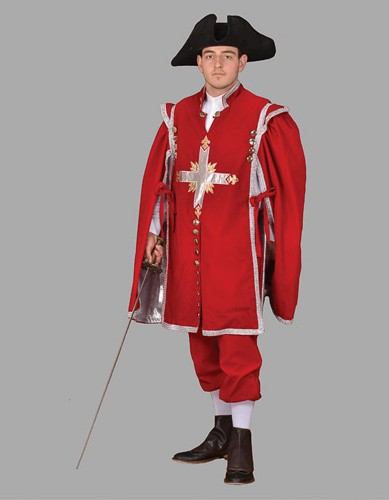 Adult Musketeer Costume ? Red