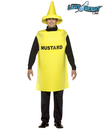 Adult Mustard Costume - Lightweight