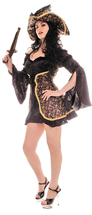 Adult Mutiny Black Costume