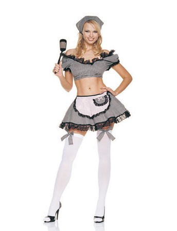 Adult Naughty Housewife Costume