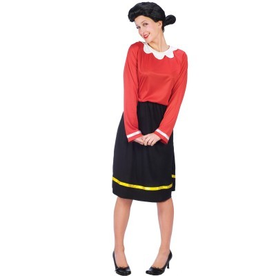 Adult Olive Oyl Halloween Costume