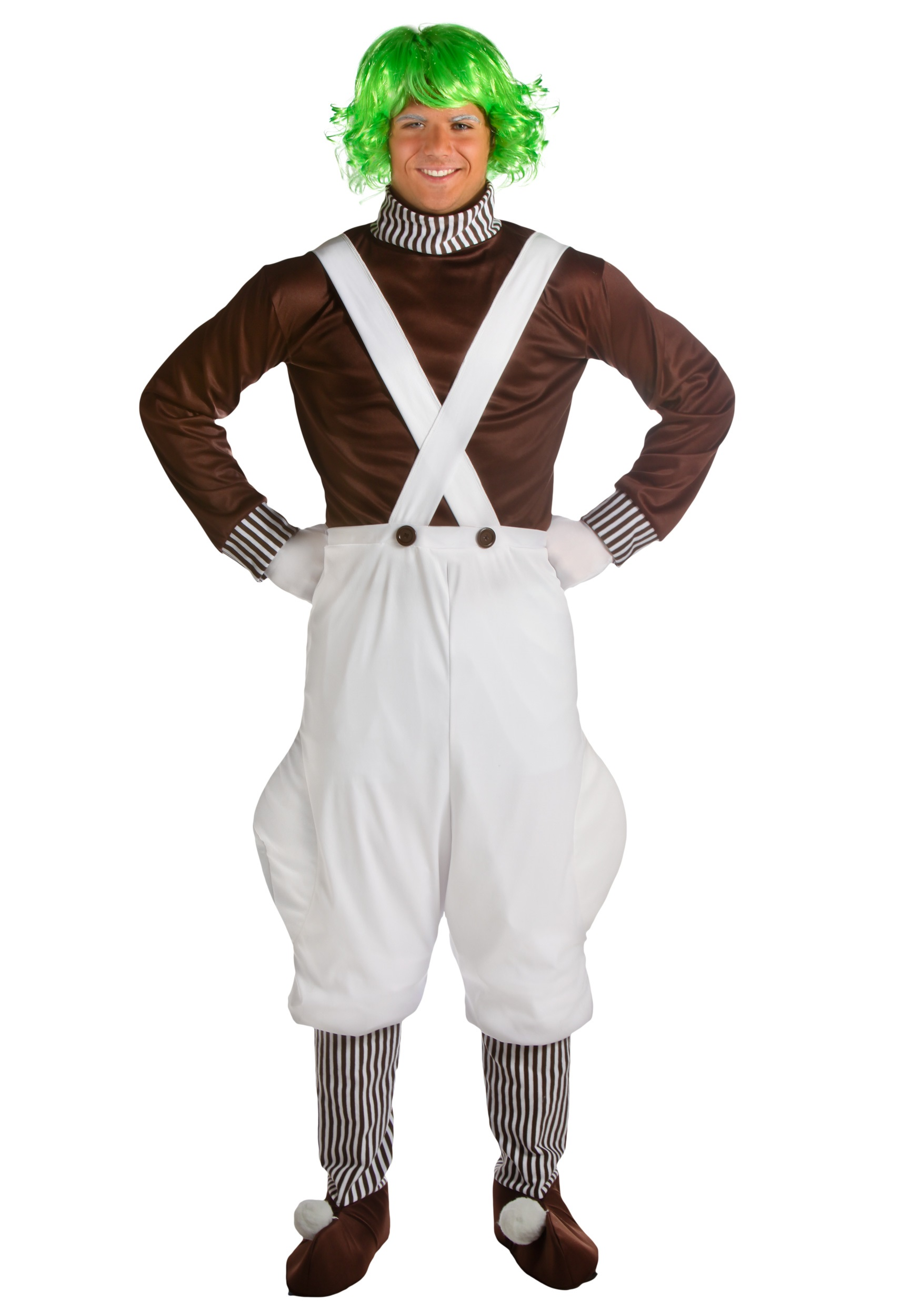 Adult Oompa Loompa Costume
