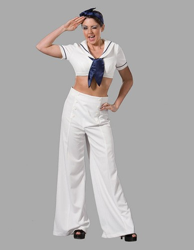 Adult Pin Up Sailor Costume