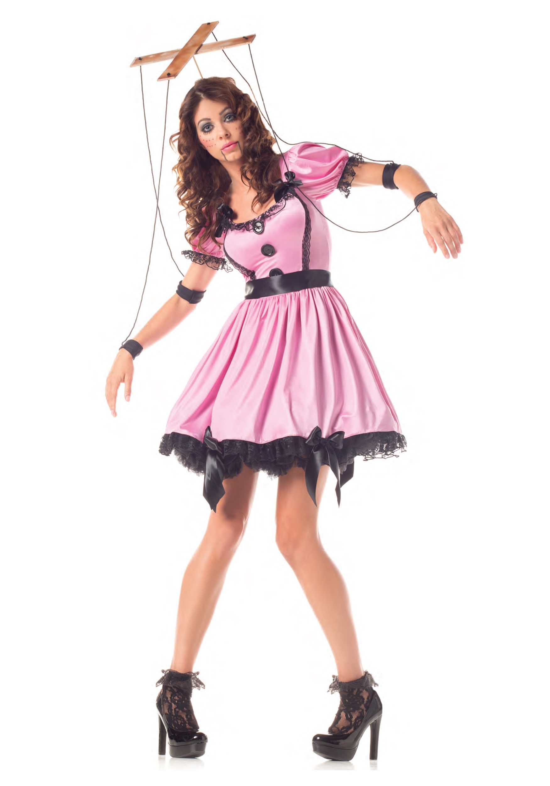 Adult Pink Marionette Costume