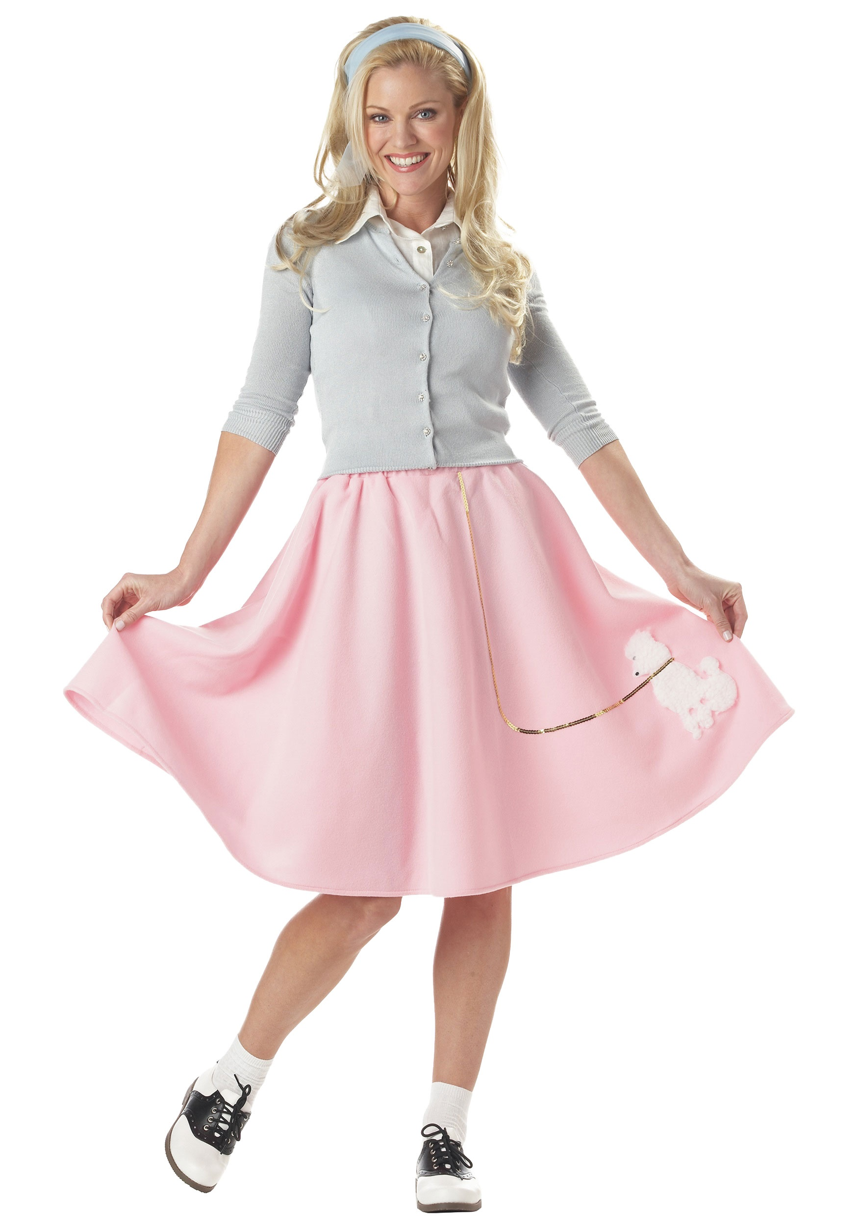 Adult Pink Poodle Skirt