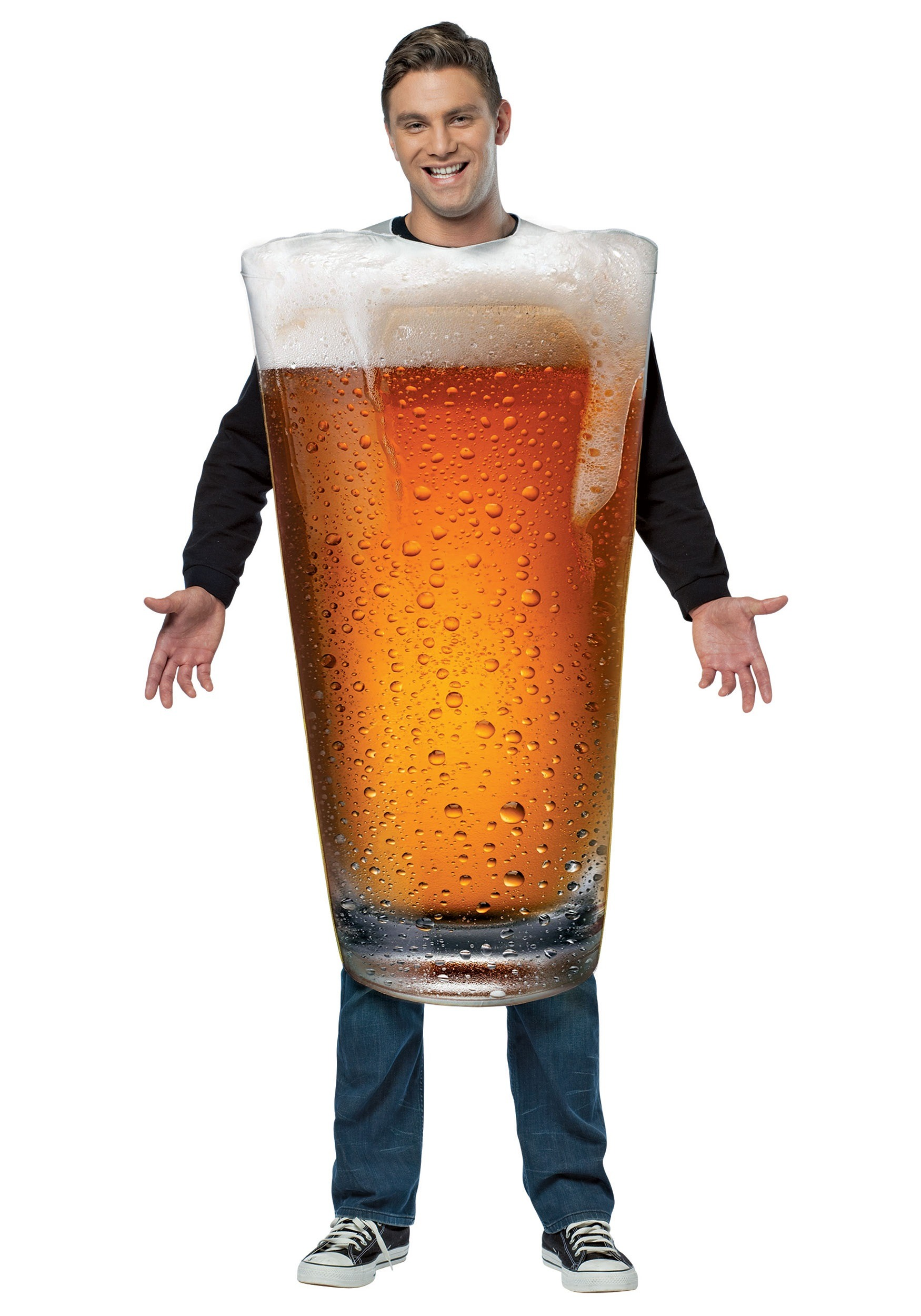 Adult Pint Of Beer Costume