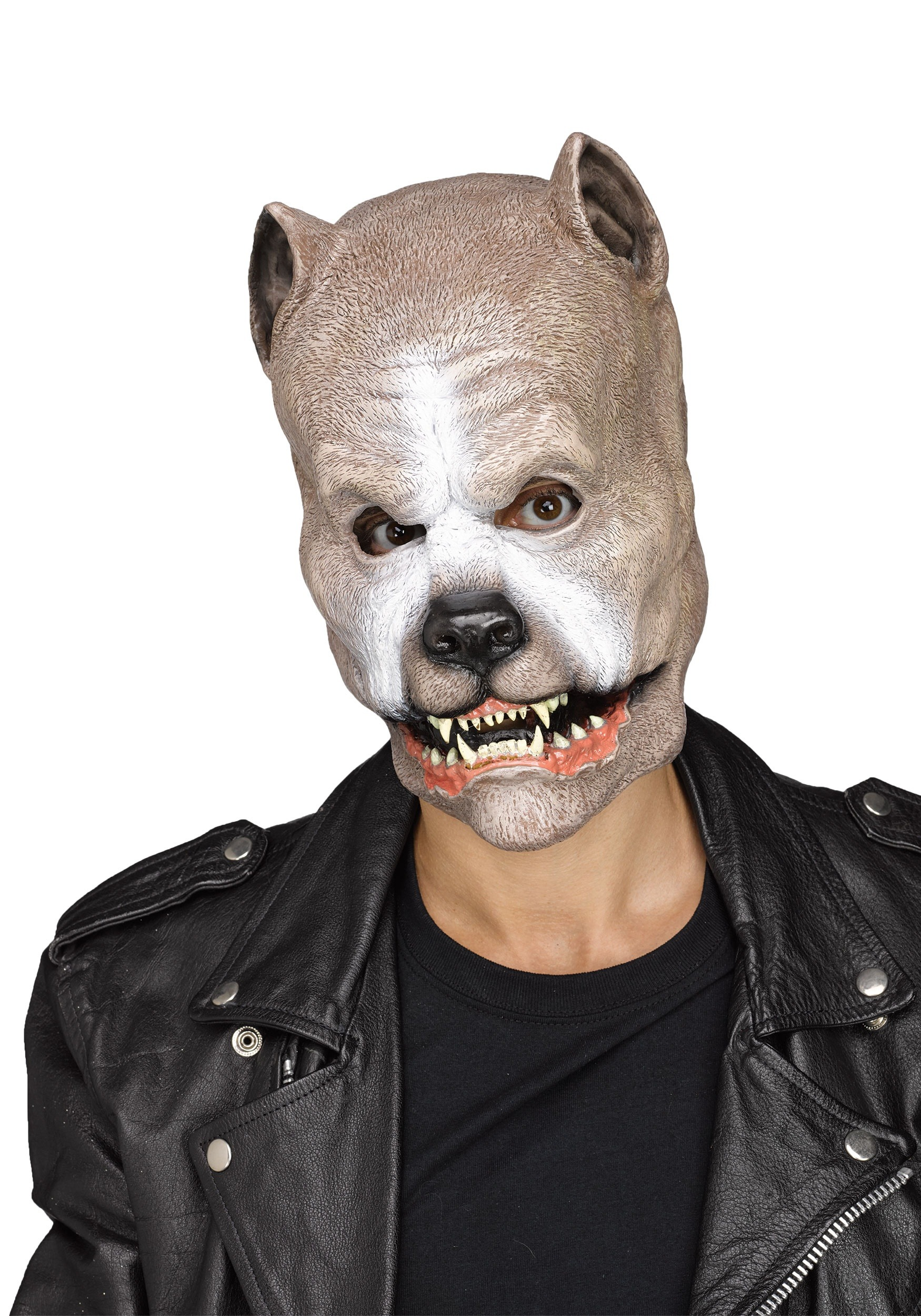 Adult Pitbull Mask