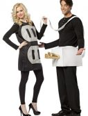 Adult Plug and Socket Couples Costume - Lightweight
