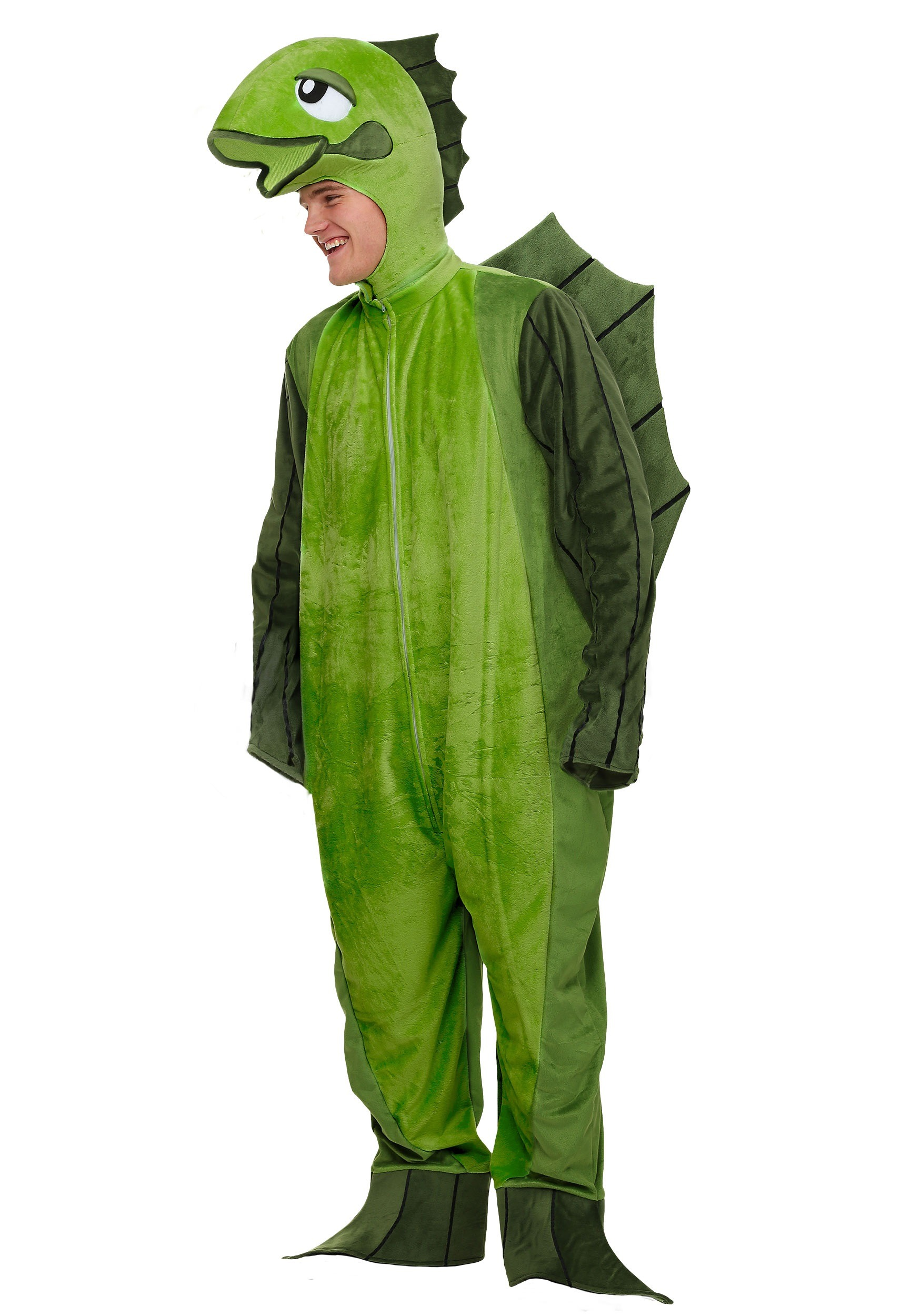 Adult Plus Size Fish Costume