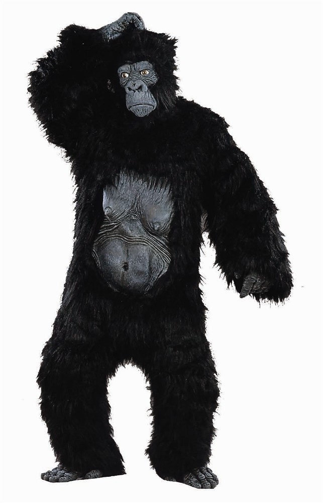 Adult Plus Size Gorilla Costume