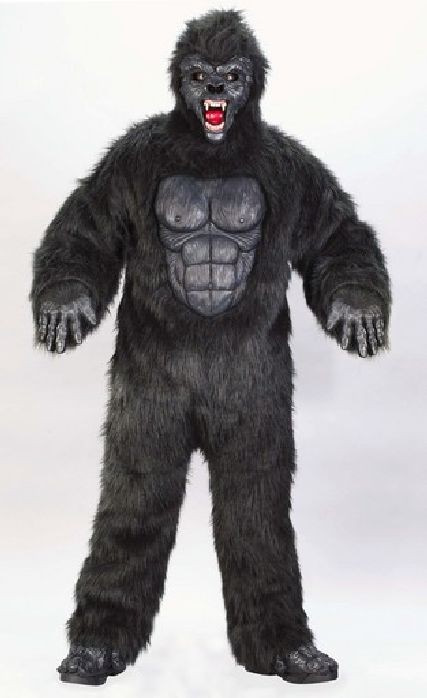 Adult Plus Size Gorilla Suit